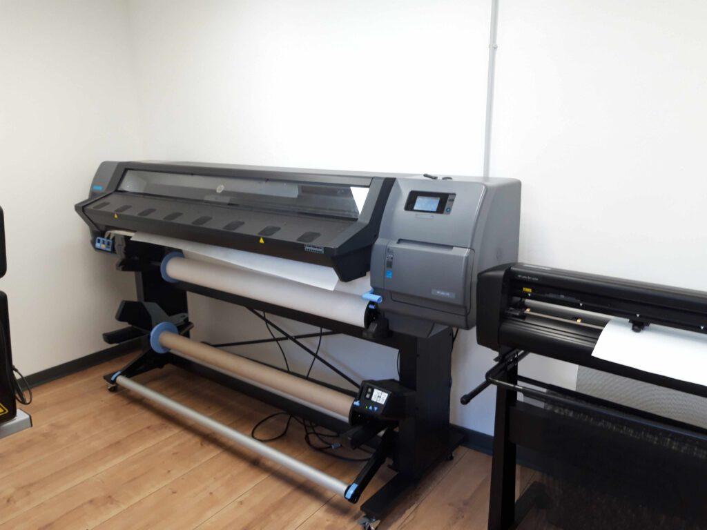 Ansicht Drucker HP Latex 335